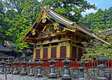 Toshogu Shrine, Nikko, Japan. Summer view.