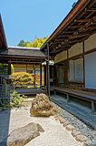 Stone garden at Historical Monuments of Ancient Kyoto
