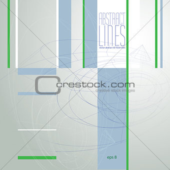Modern Lines Background, Vector Illustration, clear eps 8 vector