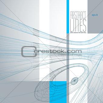 Modern Lines Background, Vector Illustration, clear eps 8 vector