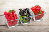 Fresh ripe berries