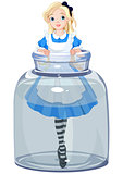 Alice in the jar