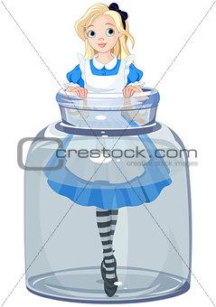 Alice in the jar