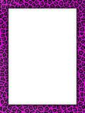 Pink cheetah print border