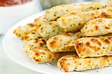 Asiago Cheese Breadsticks and Dip