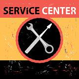 Service Center Retro