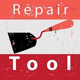 retro poster repair