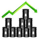 Rising Oil Price Concept