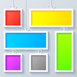 Group of Color Frames