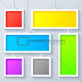 Group of Color Frames