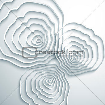 Abstract tree rings background.