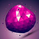 Purple geometric vector abstract 3D complicated lattice backdrop