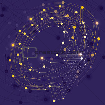 Abstract vector background, clear eps 8.
