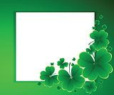 clover background for the St. Patrick's Dayrve, day, decoration,