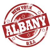 Albany stamp