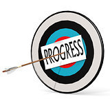 Arrow, progress  and board