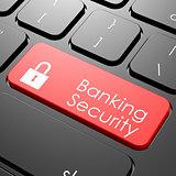 Banking security keyboard