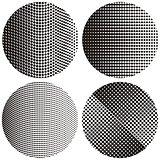Halftone round textures