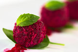 Beetroot Coconut Balls