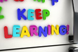 Keep learning fridge magnets