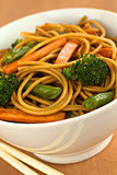 Vegetable Pasta Stir Fry