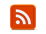 Square icon rss
