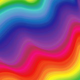 Rainbow colors pattern