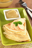 Crepes with Apple and Apple Sauce