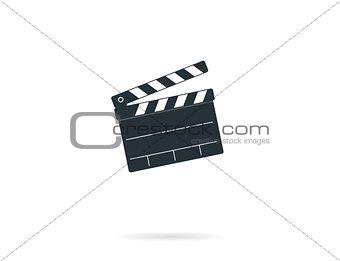 Cinema clapper board