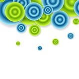 Bright abstract circles vector design