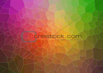 abstract  multicolor composition