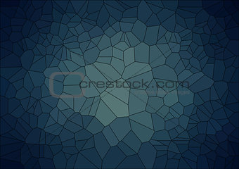 abstract  retro background with ceramic  geometric shapes
