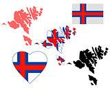 map Faroe Islands