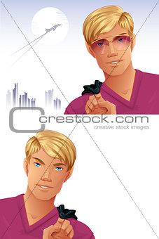 Blonde Man
