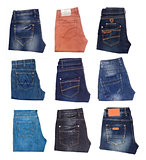 image of jeans trousers collection
