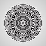 Vector Hand Drawn Doodle Mandala