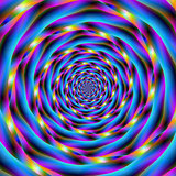 Vortex in Blue and Violet