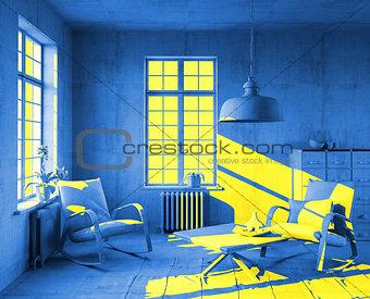 art-style interior