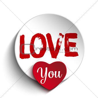 Valentine Day I Love you Heart