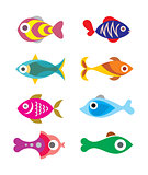 Exotic Fish icons