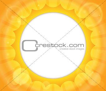 Abstract sun theme image 2