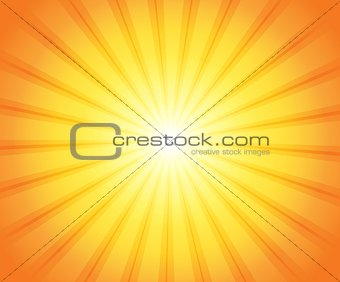 Abstract sun theme image 3
