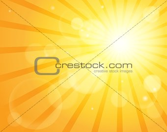 Abstract sun theme image 5