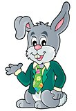 Easter rabbit theme image 1