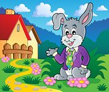 Easter rabbit theme image 2
