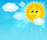 Image with happy sun theme 1