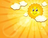 Image with happy sun theme 3