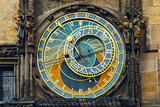 Prague Astronomical Clock (Orloj) in the Old Town Square
