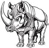 rhino in the armor