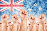 New Zealand Labour movement, workers union strike